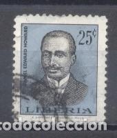 LIBERIA,1966, DANIEL EDWARD HOWARD, PRESIDENTE DE LIBERIA,USADO (Sellos - Extranjero - África - Liberia)