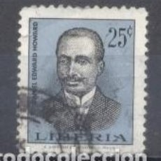 Sellos: LIBERIA,1966, DANIEL EDWARD HOWARD, PRESIDENTE DE LIBERIA,USADO. Lote 249302800