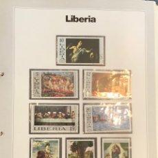 Sellos: SELLOS DEL MUNDO GRAN ENCICLOPEDIA DE LA FILATELIA EDICIÓN URBION LIBERIA N'59. Lote 249466885