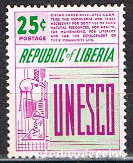 LIBERIA IVERT Nº 362, INAUGURACIÓN DE LA SEDE DE LA UNESCO EN PARÍS, NUEVO *** (Sellos - Extranjero - África - Liberia)