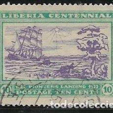 Francobolli: LIBERIA YVERT 197, BARCOS. Lote 258194235
