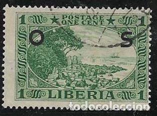 LIBERIA SERVICIOS YVERT 108 (Sellos - Extranjero - África - Liberia)