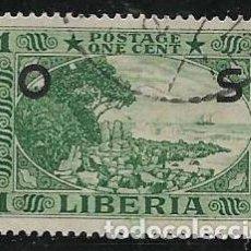 Timbres: LIBERIA SERVICIOS YVERT 108. Lote 258195115