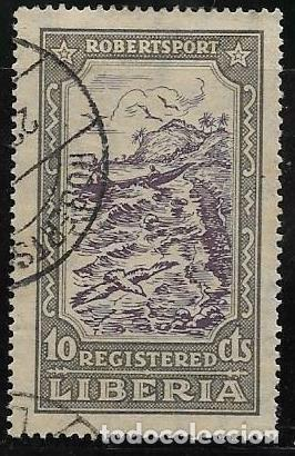 LIBERIA CORREO CERTIFICADO YVERT 39 (Sellos - Extranjero - África - Liberia)
