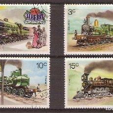Sellos: LOTE DE SELLOS DE LIBERIA 1973 USADOS - YVERT 599/602. Lote 276529288