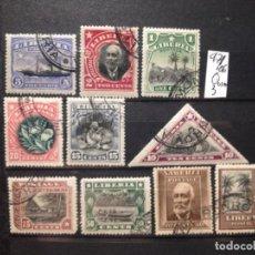 Sellos: SELLOS DE LIBERIA. USADOS.YVERT Nº 97/106. Lote 283245478