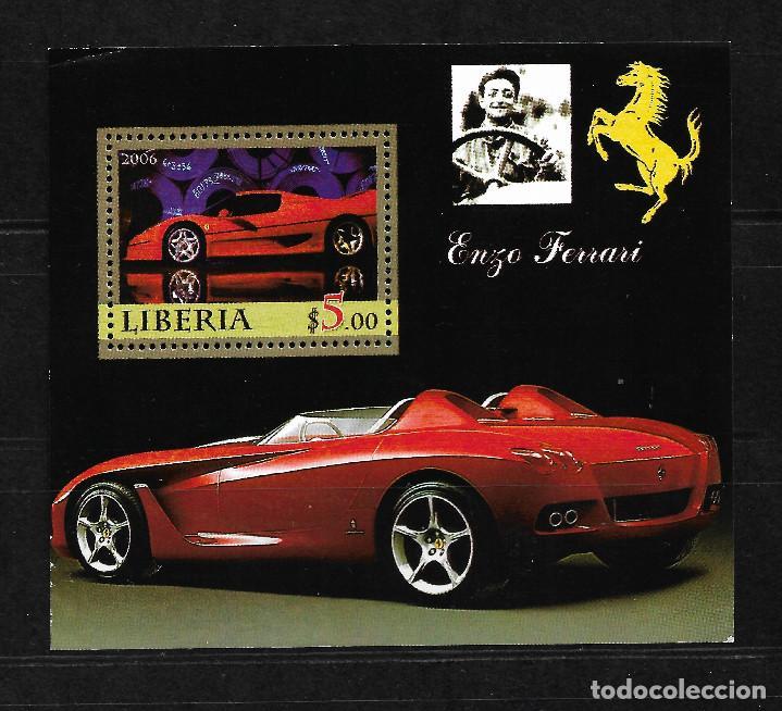 LIBERIA 2006, HOJA BLOQUE ENZO FERRARI. MNH. (Sellos - Extranjero - África - Liberia)