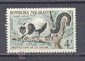 MADAGASCAR-REPUBLICA MALGACHE-1961- YVERT TELLIER 358--NUEVO (Sellos - Extranjero - África - Madagascar)