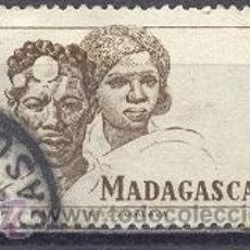 Sellos: MADAGASCAR, 1946, YVERT TELLIER 306. Lote 22981955