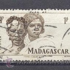 Sellos: MADAGASCAR, 1946, YVERT TELLIER 306. Lote 22981963