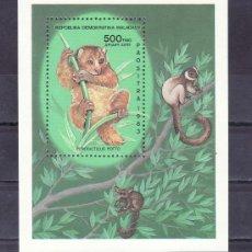 Sellos: MADAGASCAR HB 22 SIN CHARNELA, FAUNA, LEMUR . Lote 31707453