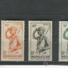 Sellos: MADAGASCAR. SELLOS. GUERRERO. INDIGENAS. AFRICA. NUEVOS. . Lote 31634664