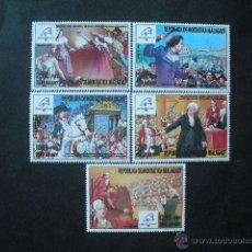 Sellos: MADAGASCAR 1989 *** PHILEXFRANCE-89 - EXPOSICIÓN FILETÉLICA - PINTURA. Lote 41033354