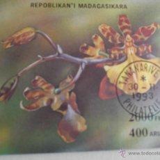 Sellos: MADAGASCAR. HB 90A FLORA ORQUÍDEA: ONCIDIUM TIGRINUM. 1994. SERIE USADA DE FAVOR Y NUMERACIÓN YVERT.. Lote 93815815