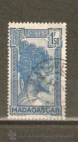 MADAGASCAR COLONIA FRANCESA YVERT NUM. 176 USADO (Sellos - Extranjero - África - Madagascar)