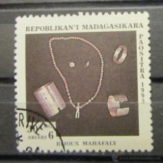 Sellos: MADAGASCAR. ARTE ÉTNICO. Lote 46056092