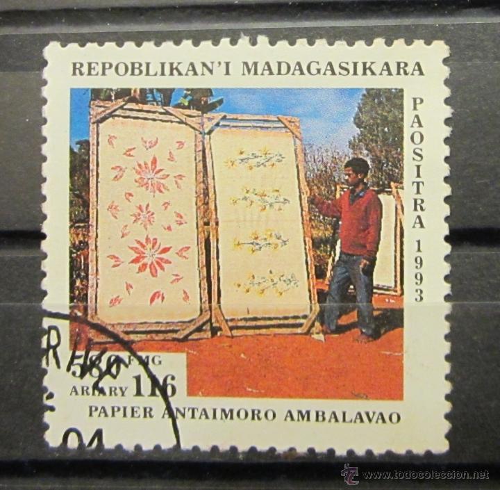 MADAGASCAR. ARTE ÉTNICO (Sellos - Extranjero - África - Madagascar)