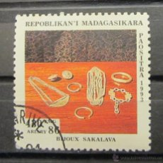 Sellos: MADAGASCAR. ARTE ÉTNICO. Lote 46056109
