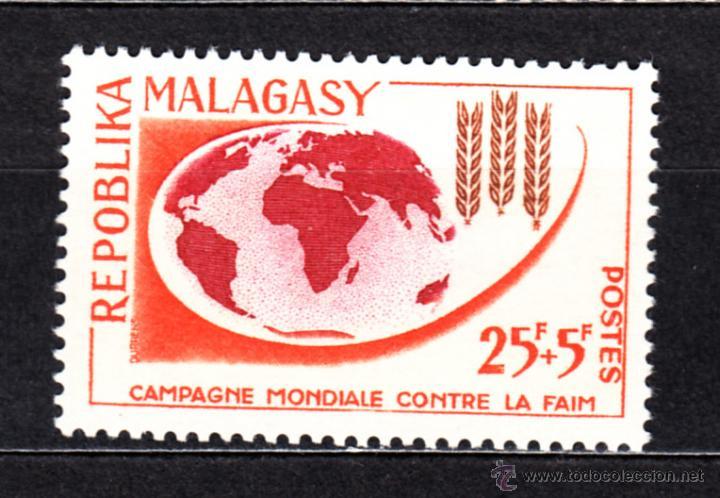 MADAGASCAR 378** - AÑO 1963 - CAMPAÑA MUNDIAL CONTRA EL HAMBRE (Sellos - Extranjero - África - Madagascar)