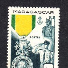 Sellos: MADAGASCAR 321** - AÑO 1952 - CENTENARIO DE LA MEDALLA MILITAR. Lote 49205513
