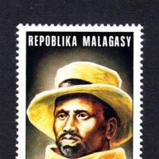 Sellos: MADAGASCAR 542** - AÑO 1974 - PERSONAJES - RAINIBETMISARAKA. Lote 49569210