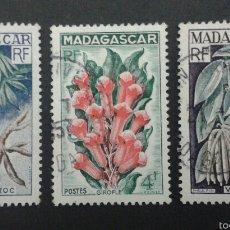 Sellos: SELLOS DE MADAGASCAR. YVERT 332/4. SERIE COMPLETA USADA.. Lote 53479239
