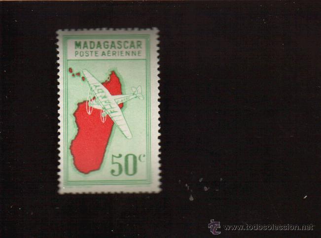 BONITO SELLO DE MADAGASCAR EL DE LA FOTO QUE NO TE FALTE EN TU COLECCION (Sellos - Extranjero - África - Madagascar)
