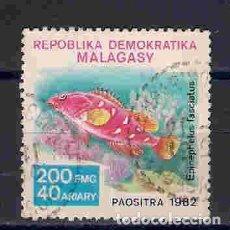 Sellos: PEZ MERO. MADAGASCAR. SELLO AÑO 1982. Lote 145950618