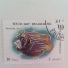 Sellos: MADAGASCAR 1994 - PECES. Lote 90356684