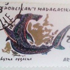 Sellos: MADAGASCAR - PEZ MARTILLO. Lote 91258160