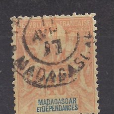 Sellos: MADAGASCAR 1896 - USADO. Lote 99957807