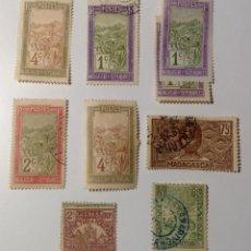 Sellos: SELLOS DE COLONIA FRANCESA - MADAGASCAR. Lote 112787546