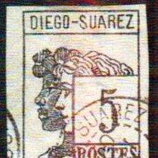 Sellos: MADAGASCAR-DIEGO SUAREZ 1890. Lote 115225379
