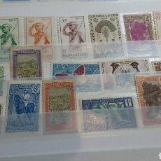 Sellos: LOTE DE 18 SELLOS DE MADAGASCAR NUEVOS. Lote 121170102