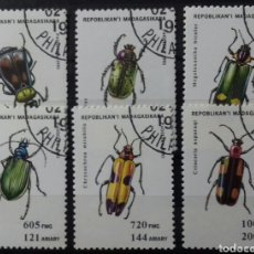 Sellos: SELLOS DE MADAGASCAR INSECTOS 1994. Lote 137143190
