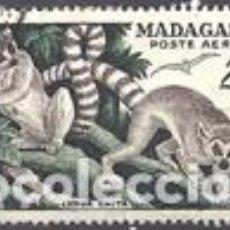 Sellos: SELLO USADO DE MADAGASCAR, CORREO AEREO YT 77. Lote 138967142