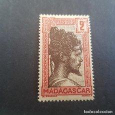 Francobolli: MADAGASCAR,COLONIA FRANCESA,JEFE TRIBU SAKALAVA,1930,SCOTT 148**,YVERT 162,NUEVO,SIN FIJAS,(LOTE AG). Lote 153485334
