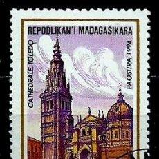 Sellos: MADAGASCAR SCOTT: 1213-(1994) (CATEDRAL DE TOLEDO, ESPAÑA) USADO . Lote 155996014