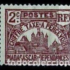 Sellos: MADAGASCAR SCOTT: J(8-(1908) (PORTE DEBIDO-TAXA). Lote 155996734