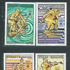 Sellos: MADAGASCAR - CORREO 1994 YVERT 1388/91 ** MNH DEPORTES FÚTBOL. Lote 156194786