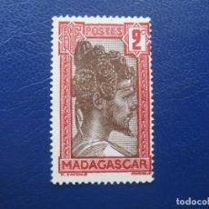 Sellos: MADAGASCAR, 1930 JEFE SAKALAVE, YVERT 162. Lote 167504956