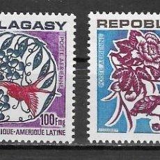 Sellos: MADAGASCAR Nº AE 137 AL 138 (**). Lote 170337808