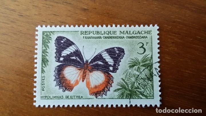 ANTIGUO SELLO REPUBLIQUE MALGACHE MADAGASCAR Nº 58 (Sellos - Extranjero - África - Madagascar)