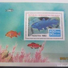 Sellos: MADAGASCAR 1982 - HOJA BLOQUE NUEVO. Lote 179122503
