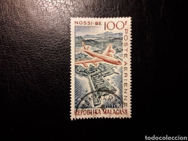 MADAGASCAR. YVERT A-87. SERIE COMPLETA USADA. AVIONES. (Sellos - Extranjero - África - Madagascar)