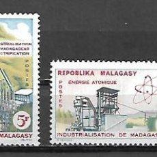 Sellos: SERIE DE MADAGASCAR NUEVA PERFECTA Nº 372/75. Lote 187207598
