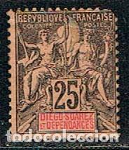DIEGO SUAREZ (MADAGASCAR) Nº 32, NUEVO SIN GOMA 1892) (Sellos - Extranjero - África - Madagascar)