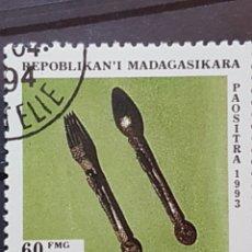 Sellos: MADAGASCAR_SELLO USADO_CUBERTERIA_YT-MG 1325 AÑO 1994 LOTE 4473. Lote 193426025