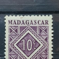 Sellos: MADAGASCAR_SELLO USADO_10 CENTIMOS LILA_YT-MG T31 AÑO 1947 LOTE 4480. Lote 193427441