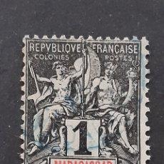 Sellos: MADAGASCAR, YVERT 28. Lote 194266638